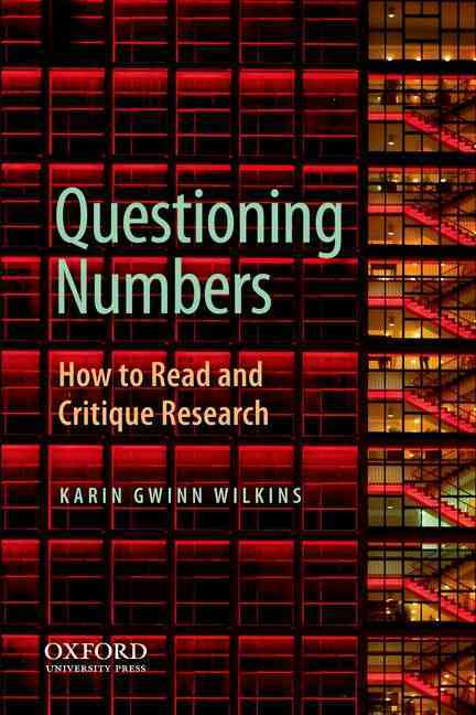Questioning Numbers By Wilkins, Karin